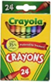 Crayola Crayons, 24 Count (4 Packages)