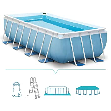 Intex 26778 Framed pool Rectangular 10874L Blue above ground pool - above  ground pools (Framed