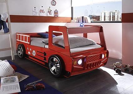 Avanti trendstore letto camion da pompiere con illuminazione led