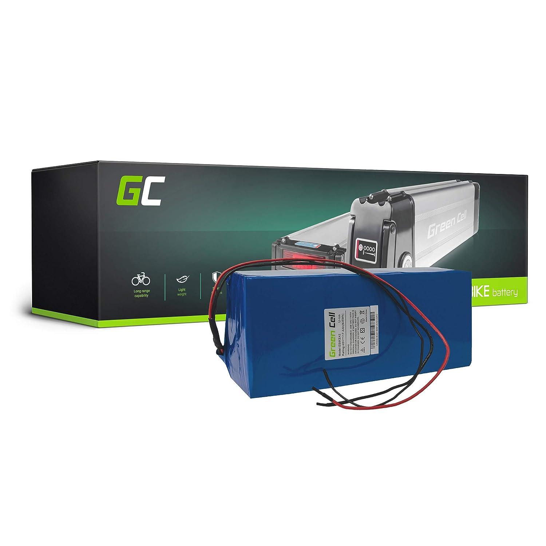 Green Cell EBIKE 48V 17.4Ah Batería Pedelec Battery Pack Li-Ion con Celdas Panasonic Mate Lovelec Volton Polaris Magnum Bicicleta Eléctrica Green Cell PRO EBIKE42_ES_19