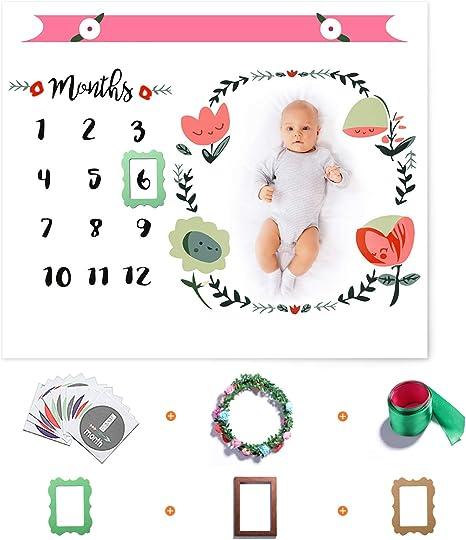 Baby Boy Blanket Adventure Awaits Baby Milestone Blanket Month Baby Blanket Personalized Baby Blanket Baby Shower Gift Newborn