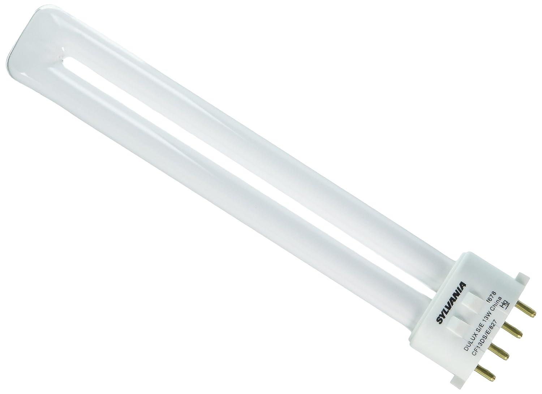 Sylvania 20314 Compact Fluorescent 4 Pin Single Tube 2700K, 13-watt