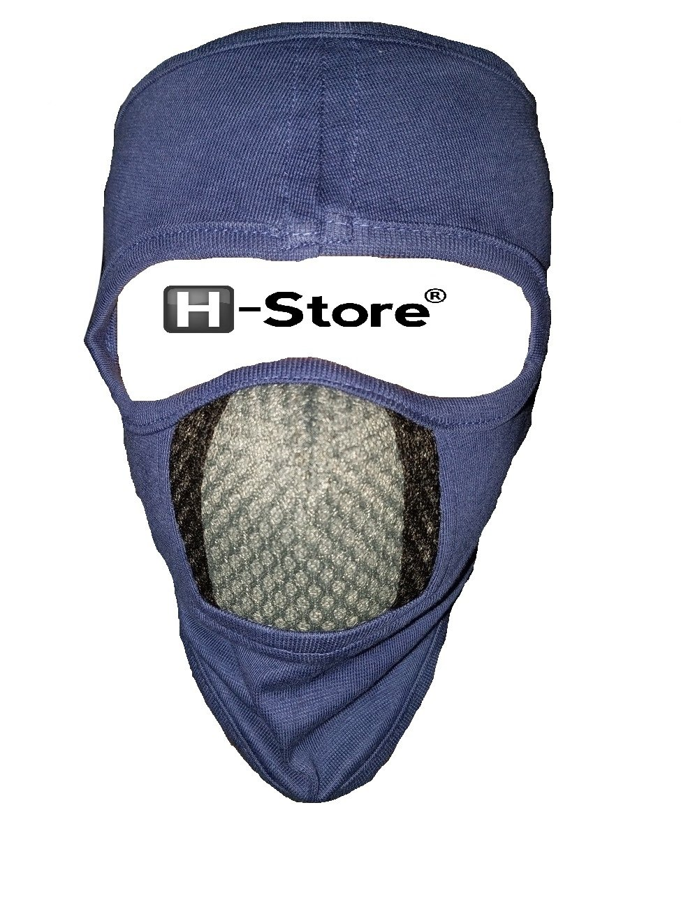 eb5e5b8a239 H-Store Ninja Grey With Grey   Black Filter Bike Riders Anti Pollution Dust  Sun Protection Full Face Cover Mask Bike Riders (Grey)  Amazon.in  Car   ...