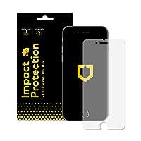 RhinoShield Protection Écran pour iPhone 7/iPhone 8 Anti-Chocs | Film Protecteur Haute qualité avec Technologie de Dispersion des Chocs - Résistance aux Rayures et aux Traces de Doigts