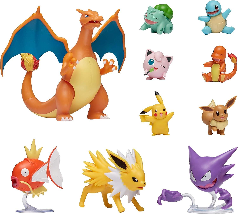 Pokemon Official Ultimate Battle Figure 10-Pack