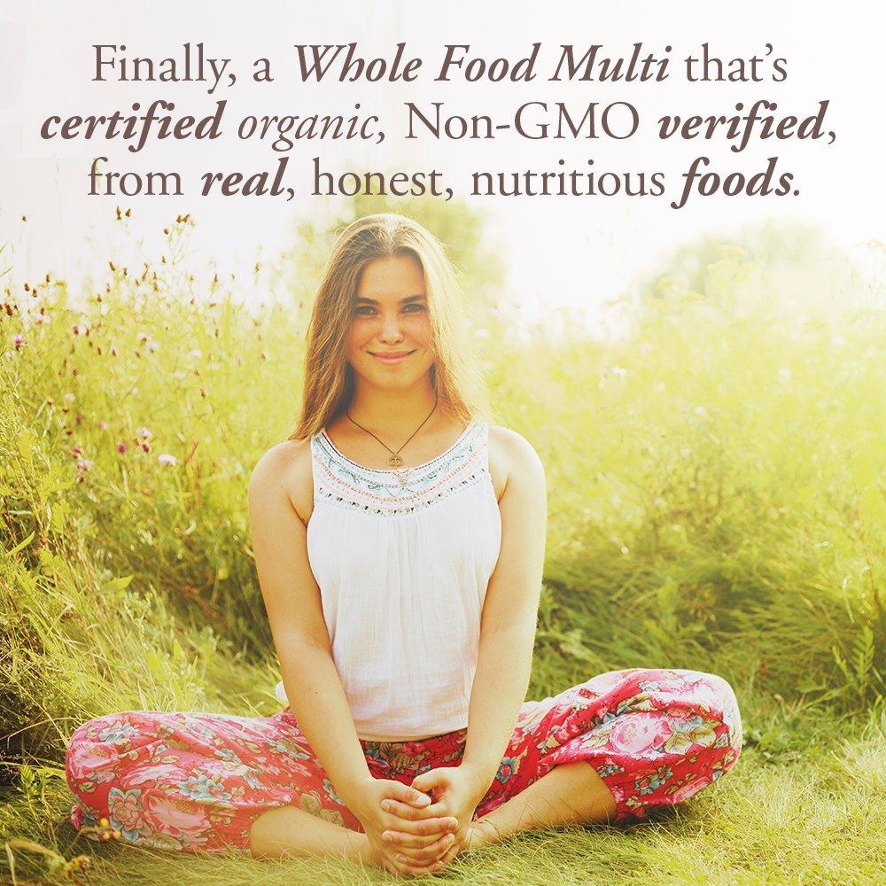 Garden of Life Multivitamin for Women - mykind Organic Women Whole Food Vitamin Supplement, Vegan, 120 Tablets by Garden of Life (Image #3)