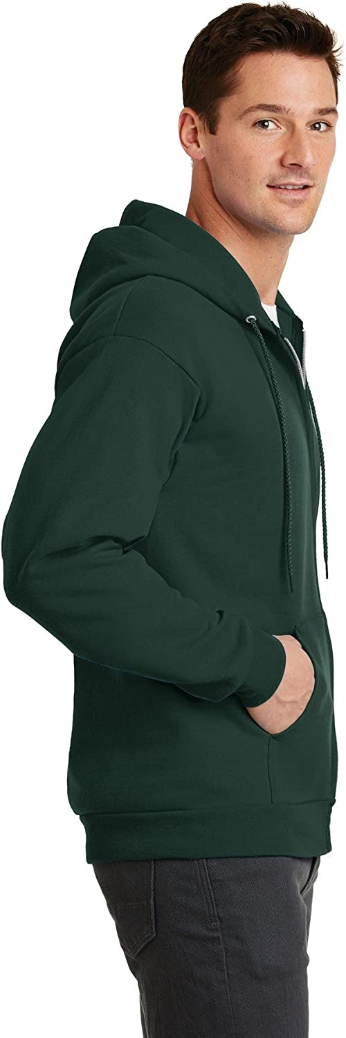 Port /& Company Mens Classic Lightweight Hooded Sweatshirt