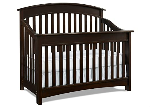 And Sturdy Crib Offers A Classic Elegant Design That Is Sure To Suit Any Nursery Decor It Also Converts Toddler Bed Grow With Your Child