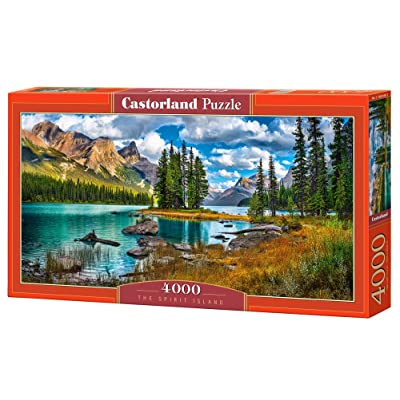 "Castorland ""The Spirit Island Puzzle (4000 Piece): Toys & Games"
