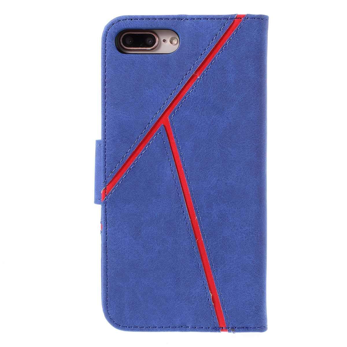 Bear Village/® Funda de Cuero Funda iPhone 7 Plus//iPhone 8 Plus Antigolpes Carcasa con Soporte Plegable y Cierre Magn/ético para Apple iPhone 7 Plus//iPhone 8 Plus Azul