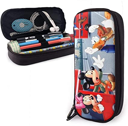 Mickey Mouse Donald Fauntleroy - Estuche para lápices y rotuladores, diseño de pato de Donald Fauntleroy para adultos y estudiantes: Amazon.es: Oficina y papelería