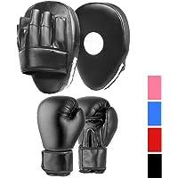 BodyRip Punch Bag Gloves Boxing Punching Mitts Pro Kick Muay Thai UFC 10OZ