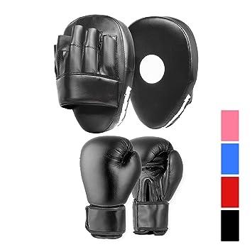 ONEX Guantes de Boxeo para ni/ños Guantes de Entrenamiento perforaci/ón Saco Kickboxing MMA Lucha Artes Marciales Boxing Gloves 2oz,4oz