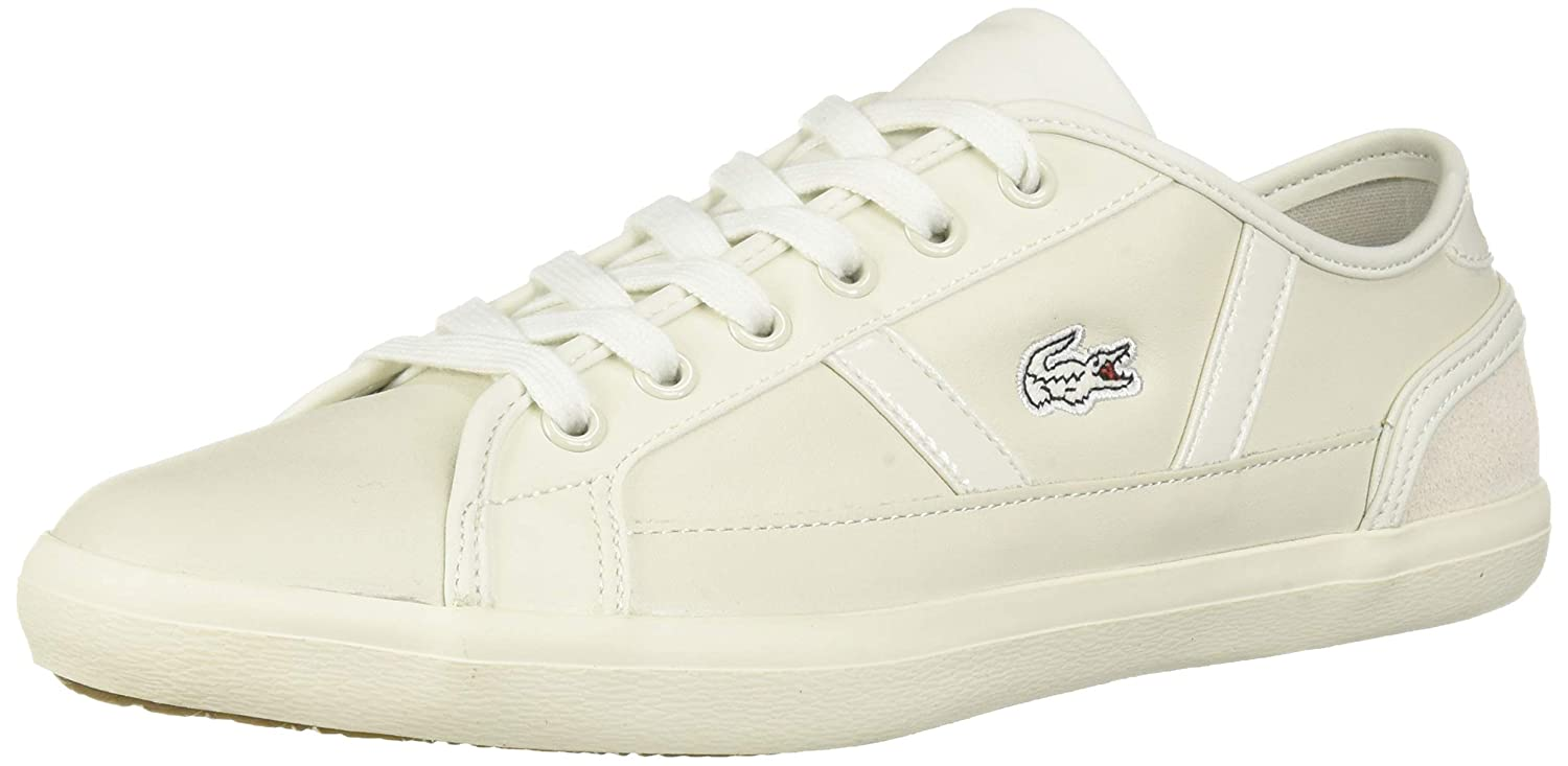 Off White Off White Lacoste Womens Sideline Sneaker