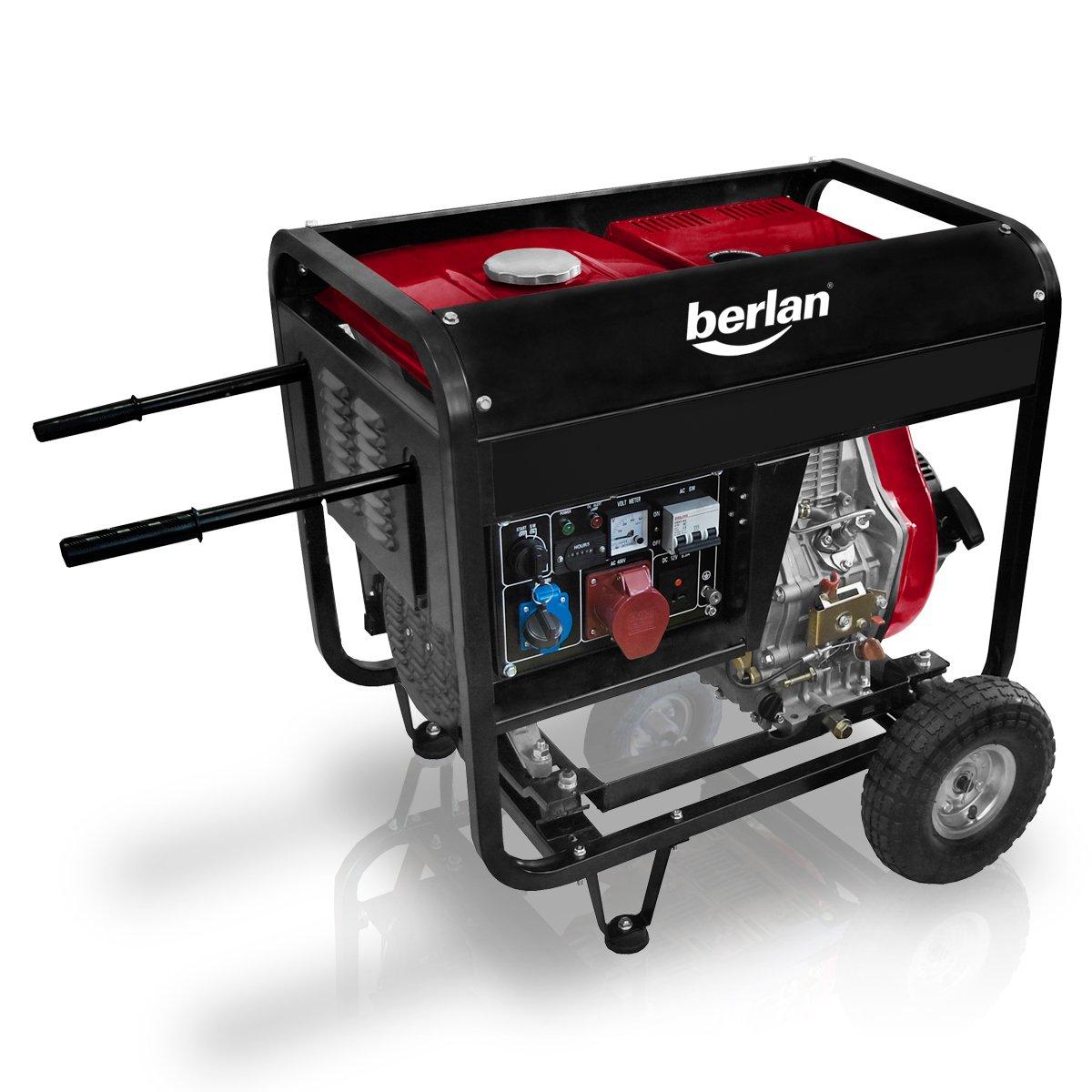 Berlan 4,5 KW Diesel Stromerzeuger 230 x 400 Volt