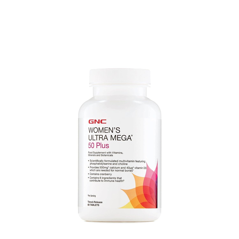 GNC de las mujeres Ultra Mega 50 Plus: Amazon.es: Salud y cuidado personal