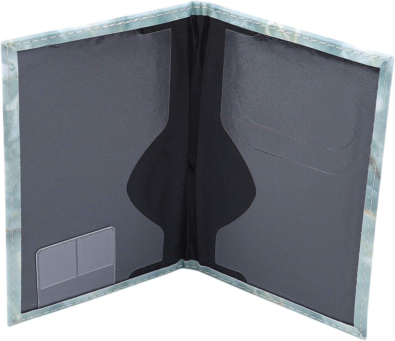 PASDD Leder Reisepassh/ülle Praktischer Reisepassetui Passport H/ülle Herren Organizer Damen Reisepass RFID Designer Travel Wallet