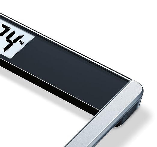 Beurer GS 485 - Báscula de baño de vidrio con Bluetooth, compatible con App en español Health Manager: Amazon.es: Salud y cuidado personal