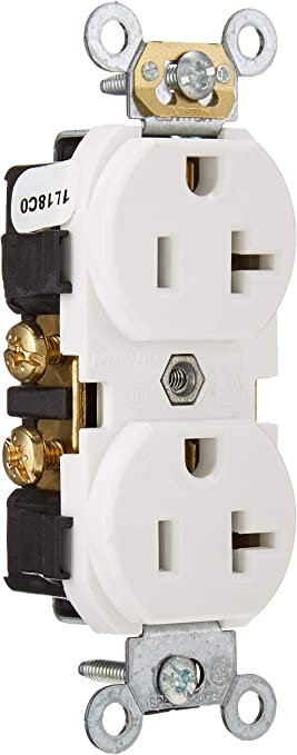 20 Unit Lot of Medical 20A 125V Commercial Electrical Outlet Receptacles