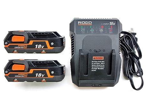 Amazon.com: Ridgid R840085 - Cargador de batería de doble ...