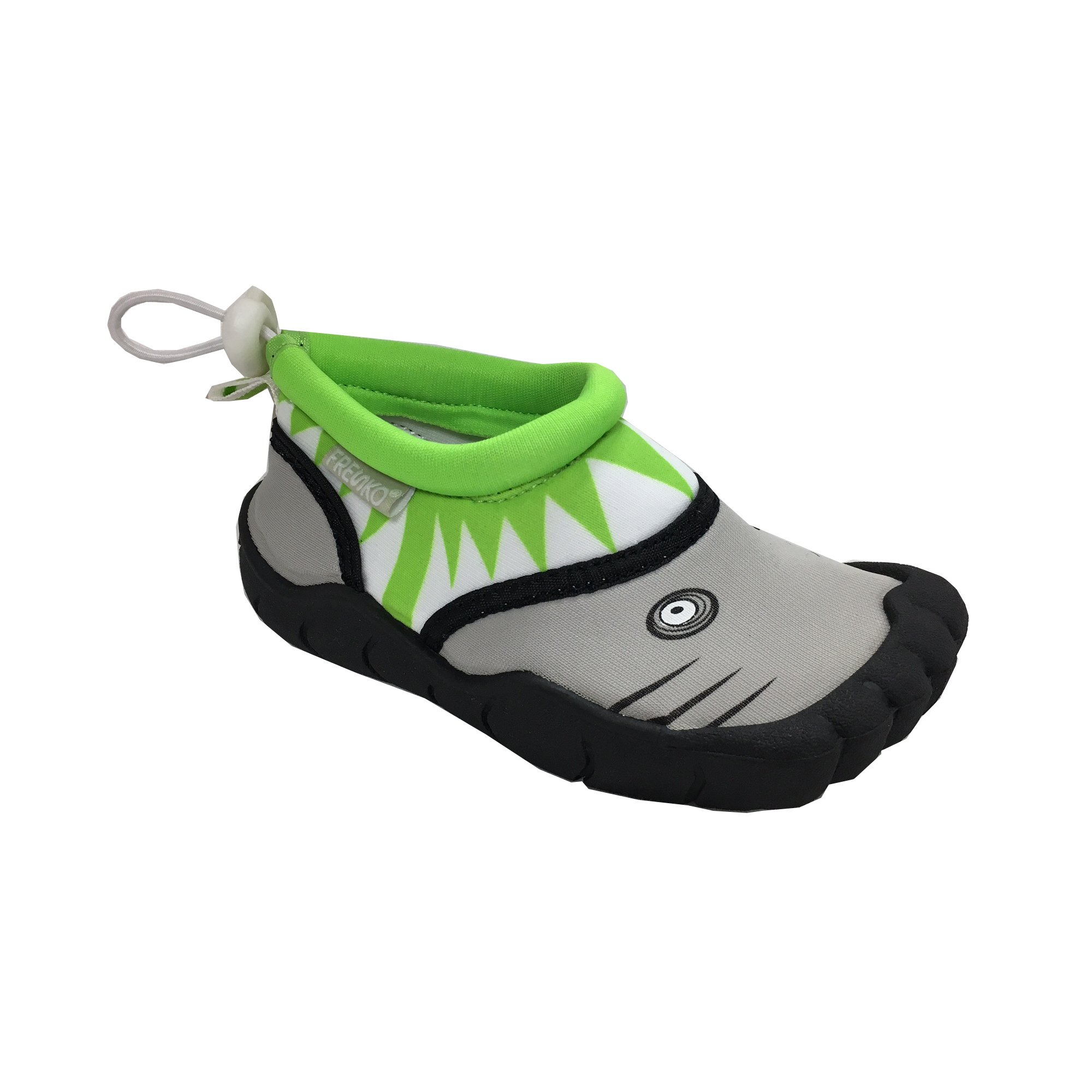 ab52bf639104 Galleon - Fresko Toddler Shark Water Aqua Shoes With Toes