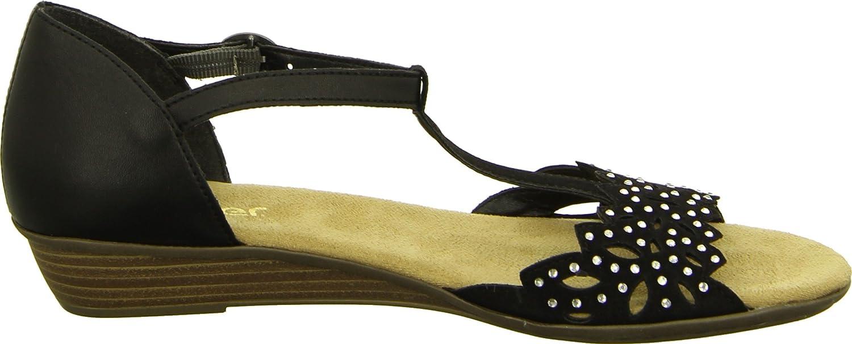 Rieker Damen Sandalette: : Schuhe & Handtaschen iTdJ1