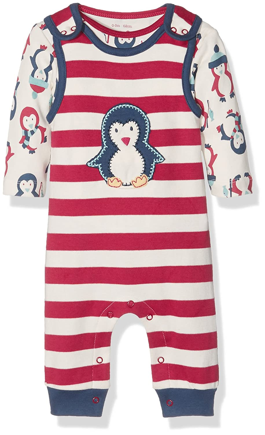 Kite Baby Penguin Dungaree Clothing Set BU015