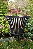 Feuerkorb Sehr stabil, Schwere Ausführung, Feuerschale, Tulip klein