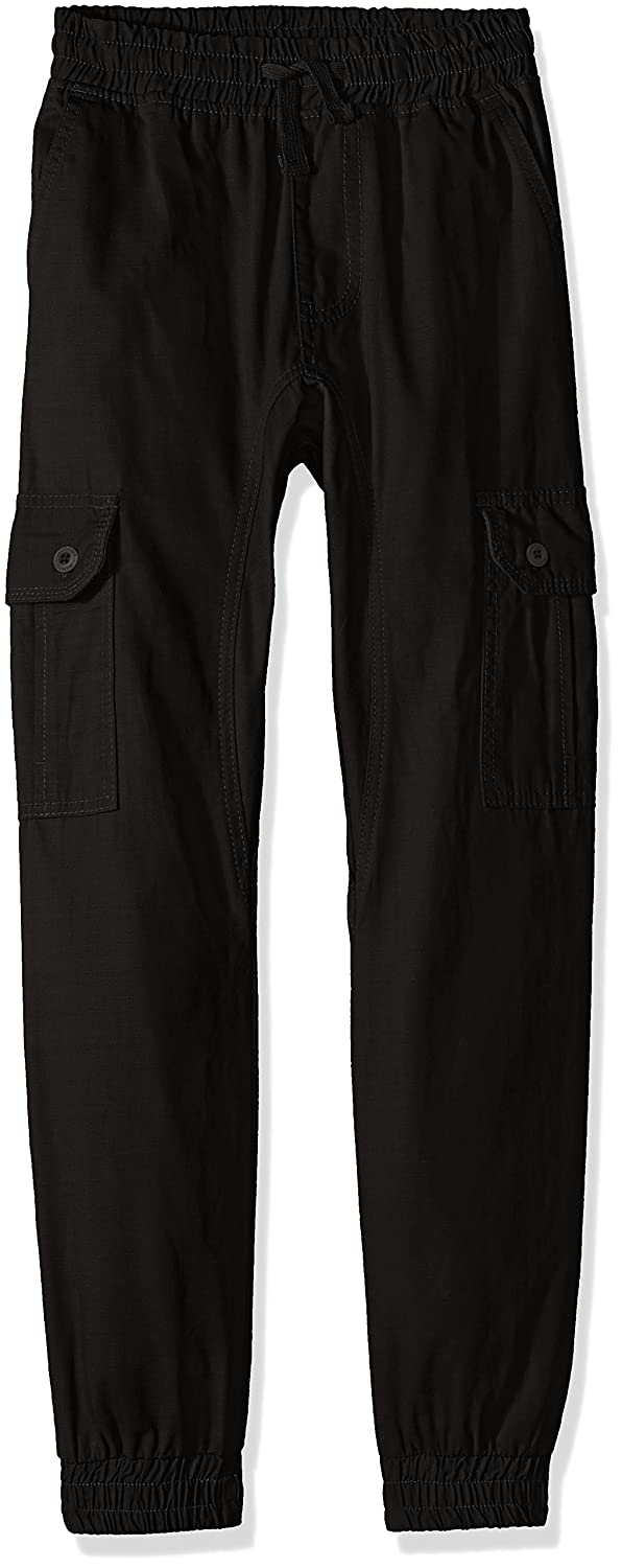 Southpole Boys Big Jogger Pants Washed Ripstop Fabric with Cargo Pockets