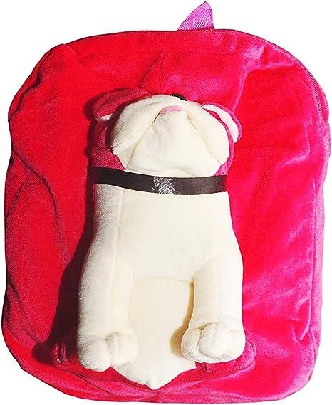 Punyah Creations Dog Full face Toy pithu Bag,Pink