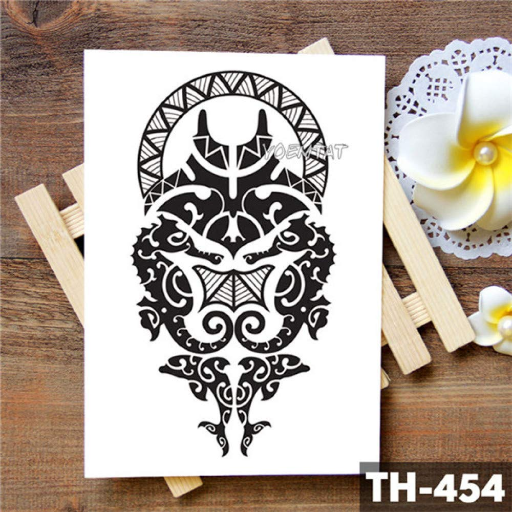 5Pc-Tigre Della Tailandia Totem Tigre Adesivo Tatuaggio ...