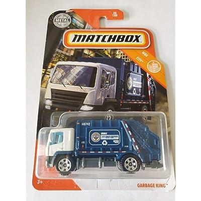 Matchbox 2020 MBX City 20/100 - Garbage King: Toys & Games