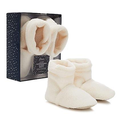 Dream Kids Cream Sherpa - Zapatillas de microondas para ...