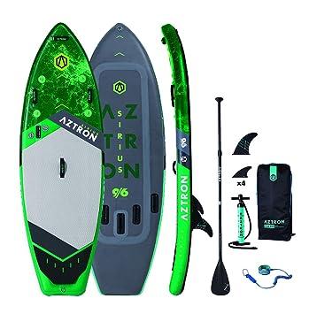 Aztron Sirius 9.6 Isup Sup Tabla Surf de Remo Oleaje Surf Torrente Bäche: Amazon.es: Deportes y aire libre