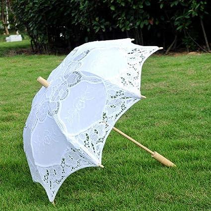 89df1bd11872 Big-time Handmade Lace Umbrellas,Wedding Umbrella,Bridal Parasol Umbrella  for Bridal Bridesmaid Wedding Decoration Photography Props ...