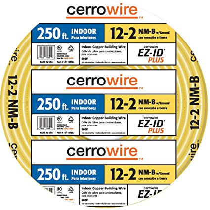 Miraculous Amazon Com Cerro Wire 147 1662 G 250 Foot 2 Conductor Nmb Romex Wiring Cloud Hisonuggs Outletorg