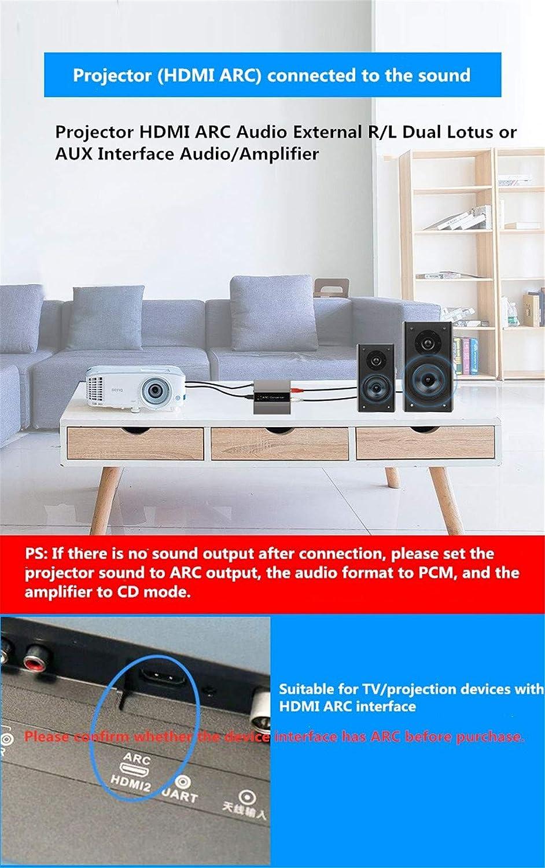 HDMI ARC Audio Converter ARC Audio Return TV/Proyector ...