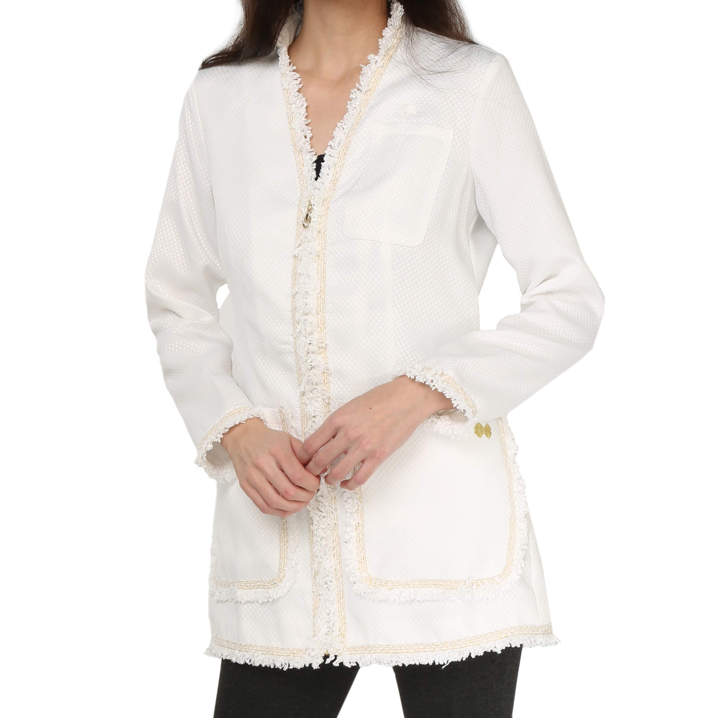 Susan Sova Women's Addyson Fashion Lab Coat. Best for Medical & Cosmetic Professionals (Large)