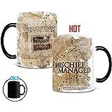 Morphing Mugs Harry Potter (Marauder's Map) Ceramic Mug, Black