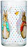 Peter Rabbit Gobelet en acrylique transparent Motif Pierre Lapin