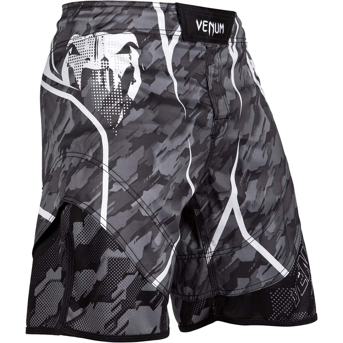 Venum Tecmo Lightweight MMA Fight Shorts - XS - Dark Gray by Venum