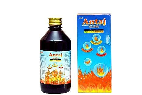 Antaj Ayurvedic Herbal Acidity Syrup - 400 ml