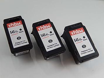 vhbw 3X Set de Cartuchos de Tinta de Relleno para Impresora ...