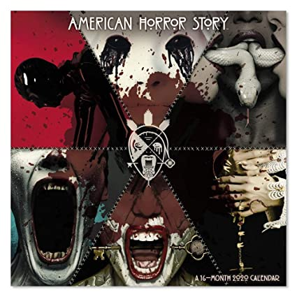 American Horror Story New Season 2020 Amazon.: 2020 American Horror Story Wall Calendar (DDW2682820