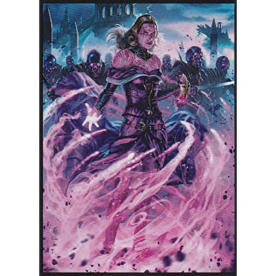 (70) War of The Spark Liliana Dreadhorde General Deck Protector Sleeves 70ct: Toys & Games