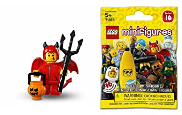 10 X Lego Minifigures Series 16 Blind Bags 71013 Amazon Co Uk Toys
