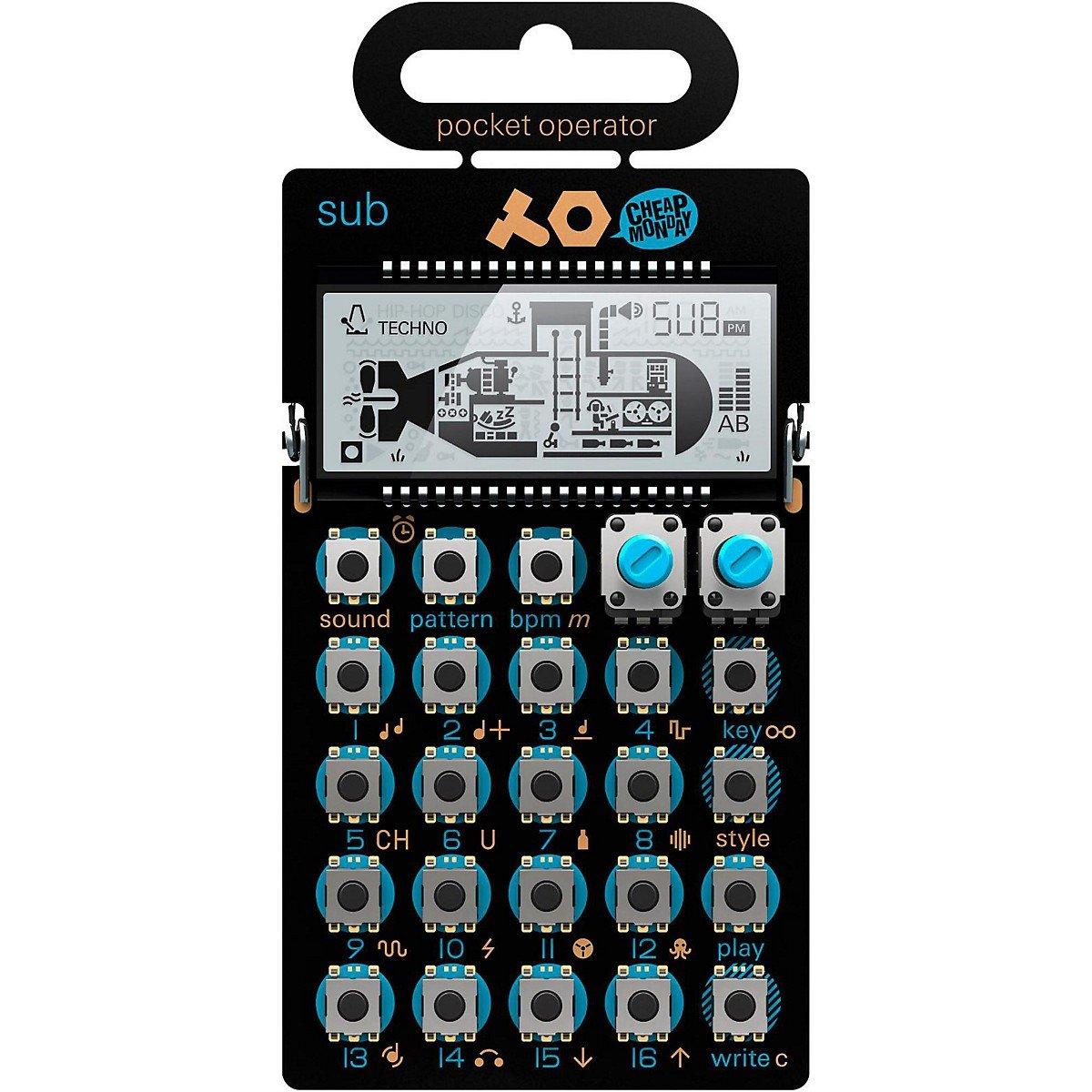 Teenage Engineering PO-14 sub | Minimalistischer Bass Synth | NEU P824