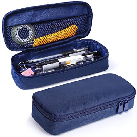 Amazon.com: Estuche para bolígrafos, gran capacidad, de lona ...