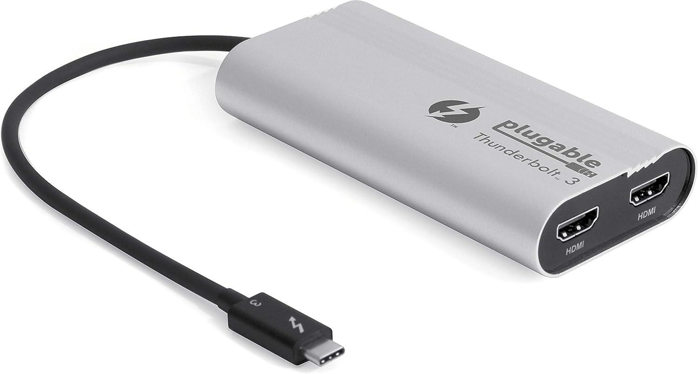 Conecte su Mackbook Pro a 2 Monitores HDMI por Thunderbolt 3