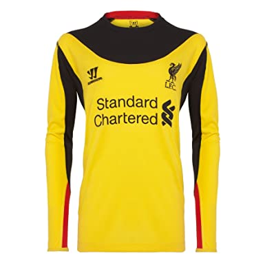 Warrior Liverpool - Camiseta de fútbol, tamaño XXL, color amarillo
